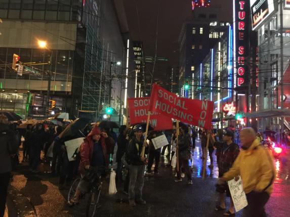 Protest Sheraton4Street